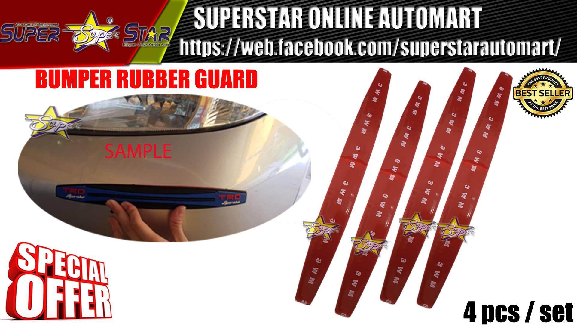 BUMPER RUBBER GUARD TRD BIG (YELLOW)