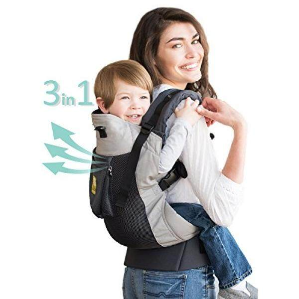 131c68a8b7c LILLEbaby 3 in 1 CarryOn Toddler Carrier - Air - Charcoal Silver