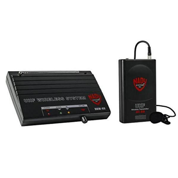 Nady DKW-8U UHF Sistem Mikrofon Lavalier Nirkabel-Termasuk Kelapak Mikropon, Bodypack Nirkabel, Penerima, adaptor AC dan Kabel Audio-Mudah Mempersiapkan Berkinerja Presentasi, Alamat Publik-Internasional