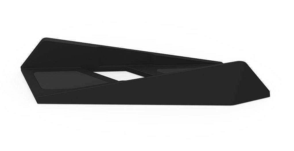 Chechang Non-slip Vertikal Ramping Penyangga untuk PS4 Konsol (Hitam)-Internasional