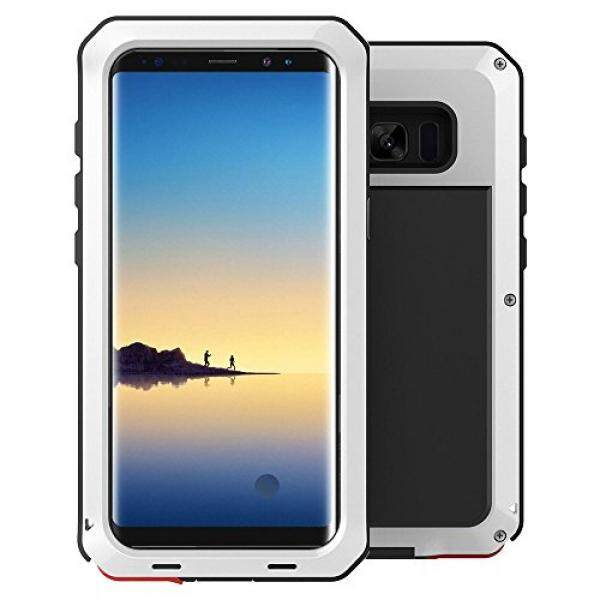 Catatan 8 Case, galaksi Note 8 Hibrida Anti Guncangan Penuh Badan Perlindungan Tugas Berat Guncangan Pengurangan Bemper Case untuk Samsung Galaksi Note 8 (putih) -Internasional