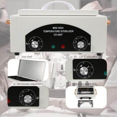 High Temperature Towel Manicure Tools Disinfection Cabinet (WHITE)