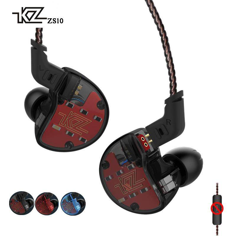 Retail Kz Zs10 4Ba With 1Dynamic Hybrid In Ear Earphone Hifi Dj Monito Running Sport 5 Drive Earphone