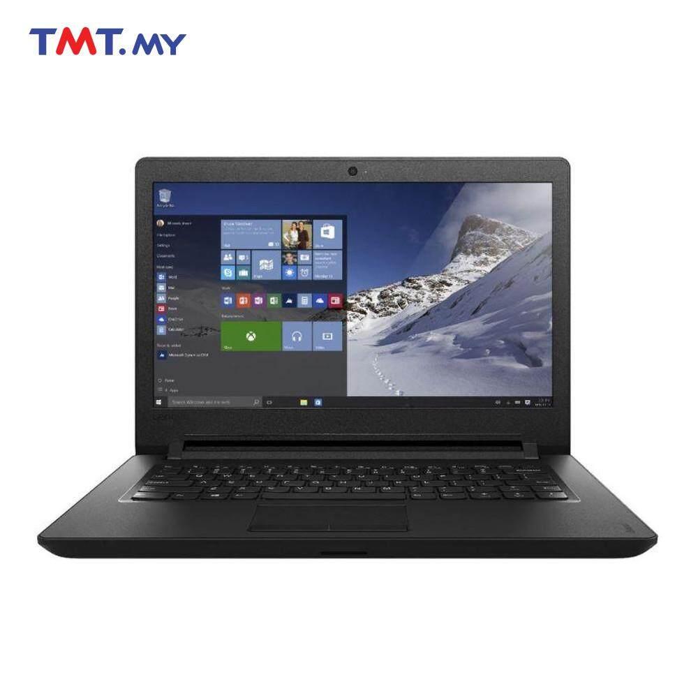 Lenovo 110-14IBR 80T6009TMJ Laptop | Pentium N3710 | 4GB | 500GB | 14 - Black Malaysia