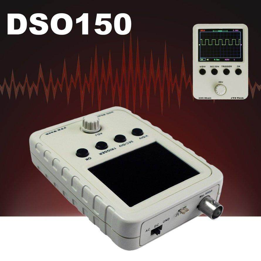 Detail Gambar Dso150 Digital Oscilloscope With Perumahan Produksi Elektronik DIY Kit Warnawarni Terbaru