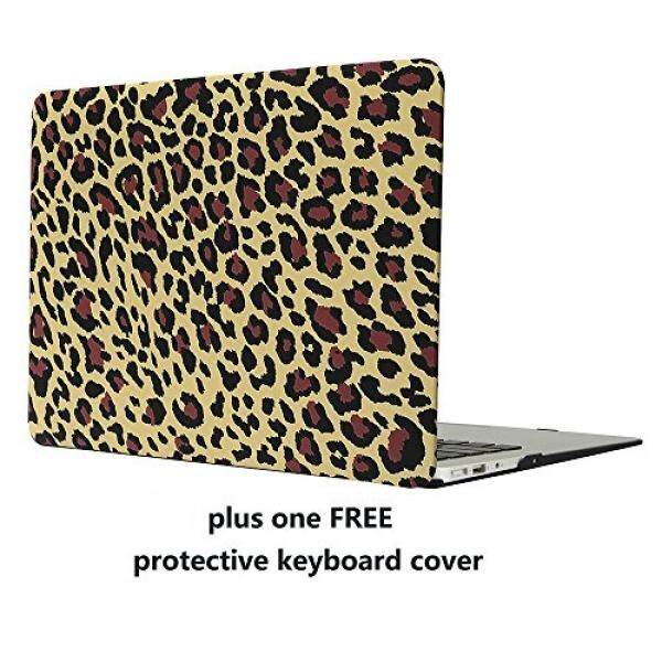 MacBook Air 11 Case Cover – Treasure21 Slim fit Smart protection Soft rubber coating Smooth better grip Hard case shell cover for Macbook Air 11 A1370 A1465 (Leopard) - intl