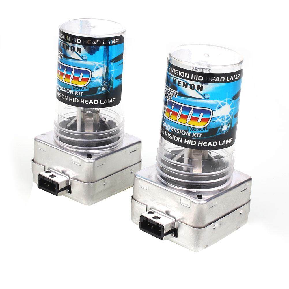 Recent 2Pcs D1S 6000K Hid Xenon Auto Car Vehicle Headlight Light Bulb Lamp 12V 55W Intl
