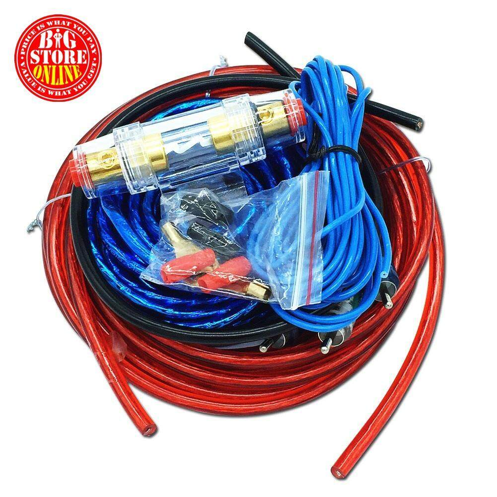Automotive Amplifiers Buy At Best Price In Audio Amp Wiring Car Kit Amplifier Sound Speaker Woofer Cable Wire Power Line Suit 4ga