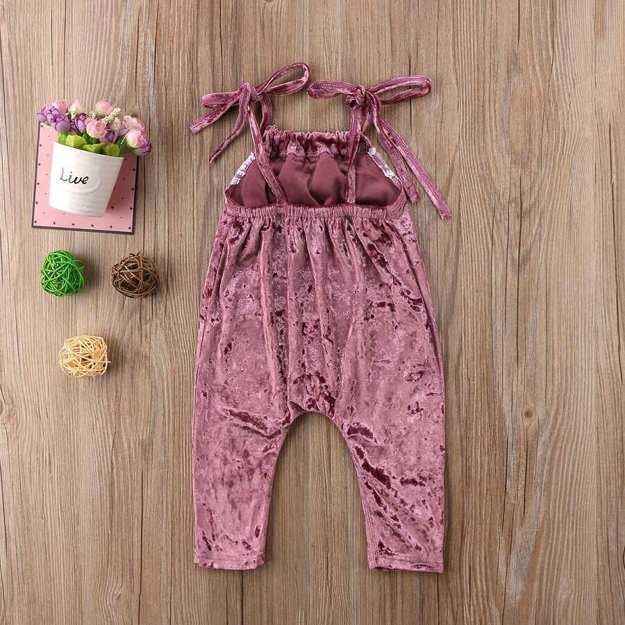 ... Kasual Anak Bayi Perempuan Renda Musim Panas Romper Jumpsuit Pakaian- Internasional - 4 ...