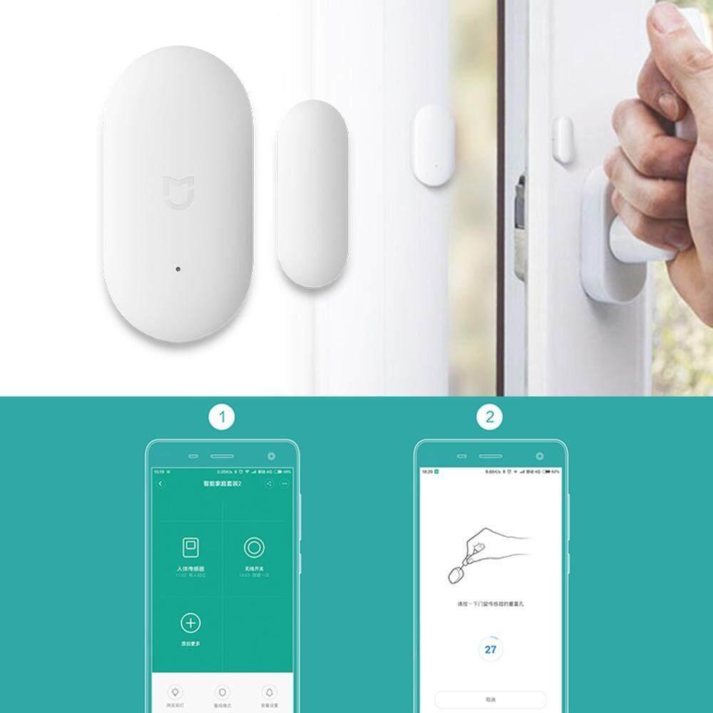 Dongxi 2018 Baru Anti Pencurian Pintu dan Jendela Alarm Jarak Jauh Pengendali Semua-Dalam-Satu Alarm Keamanan Pribadi sistem Magnetik Kontak Sensor untuk Xiaomi Alarm Pintar Sistem Kontrol APP-Internasional