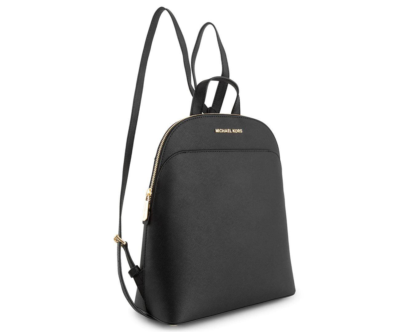 9420a62d1a7c closeout michael kors large emmy backpack black 4 a3318 786d3