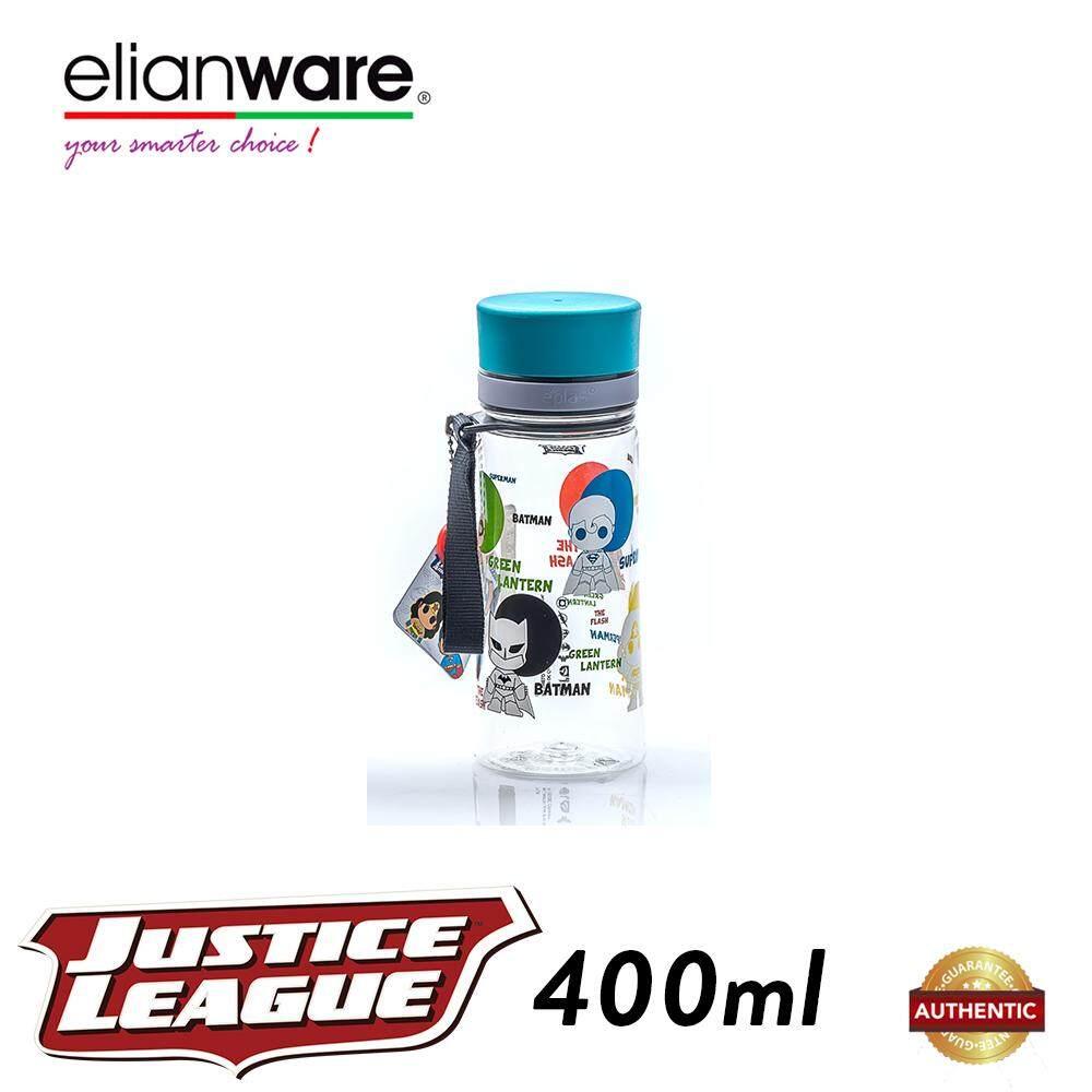 Elianware DC Justice League 400ml BPA Free Transparent Water Tumbler