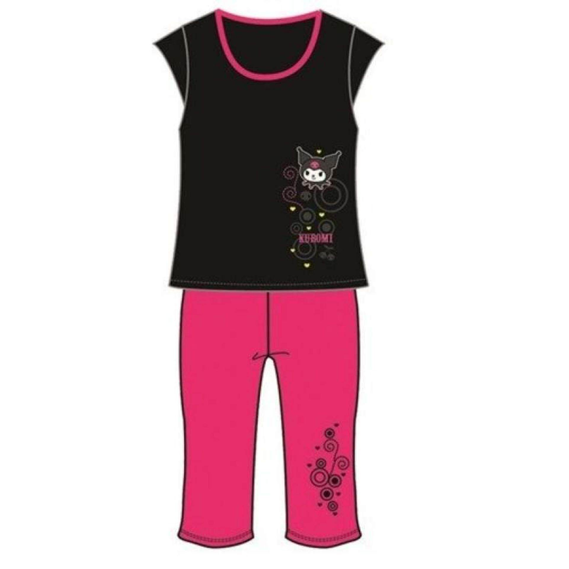 Hong Kong Limited Edition Sanrio Hello Kitty Ladies Lycra Material Yoga Suit M Size - Black Colour