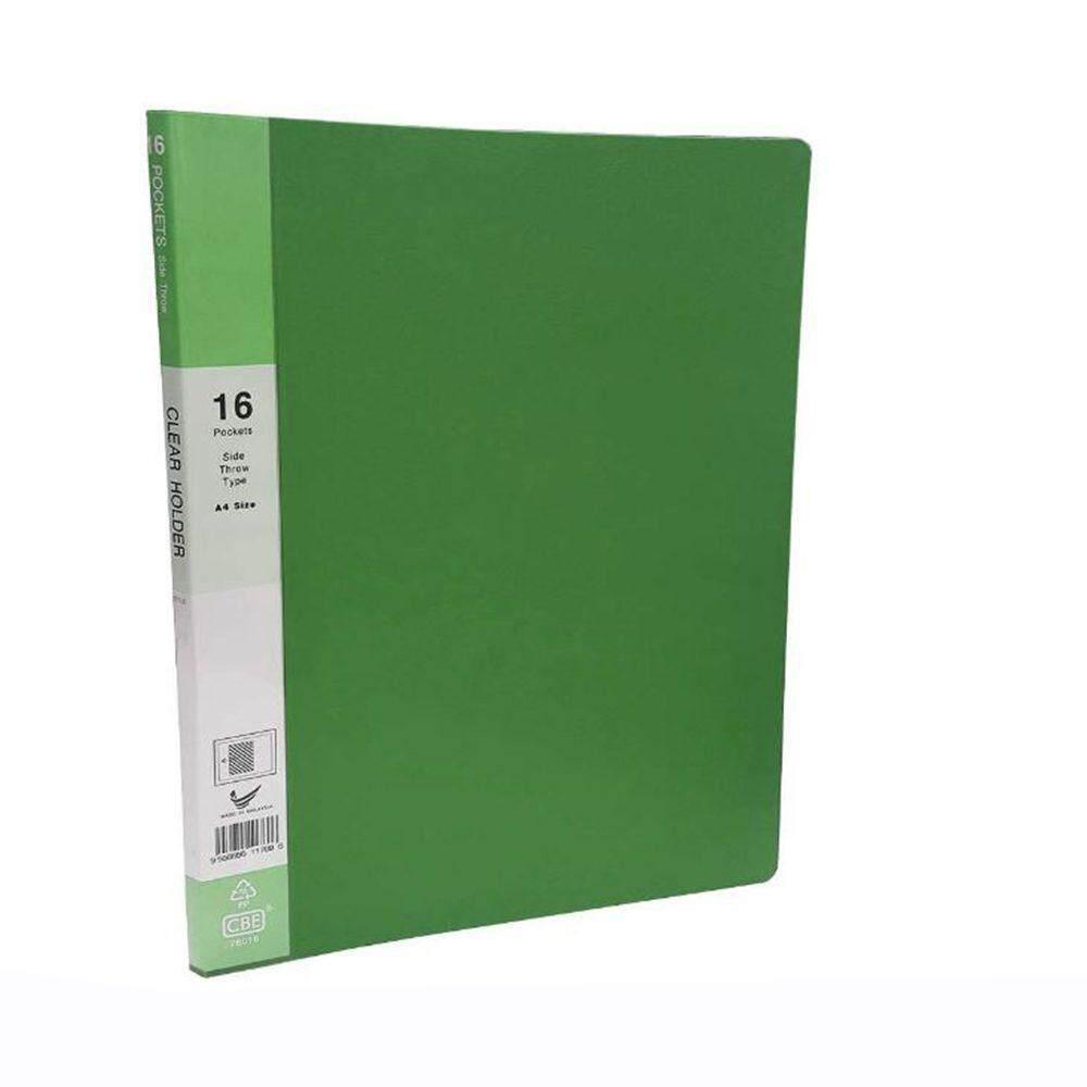 CBE Basal Colour Clear Holder 76030 GREEN ( ITEM NO : B10 60 G )