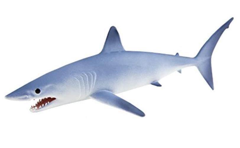 Safari Ltd. mako Shark-Model Lukisan Mainan Lukis Handal Yang Realistis-Konstruksi Mutu dari Phthalate, pimpinan dan BPA Bebas Materials-untuk Usia 3 dan Ke Atas-Internasional