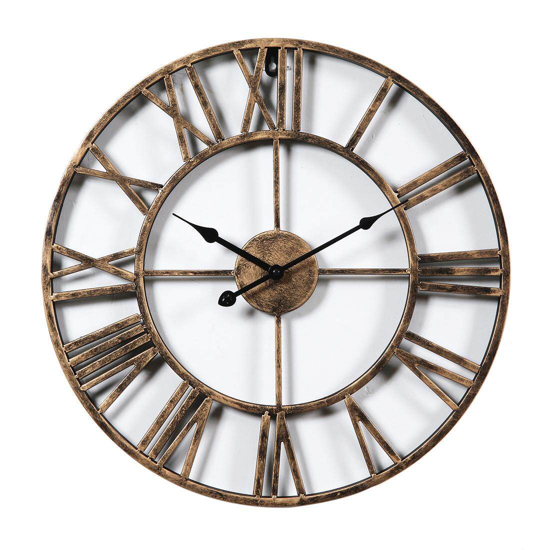 Home Clocks Buy At Best Price In Malaysia Lazada Jam Tangan Swatch Original 100  Ycs584 Travel Chic Elegant 360dsc Fashion Iron Hollowed Out Wall Clock Simple Creative Living Room Hanging Golden
