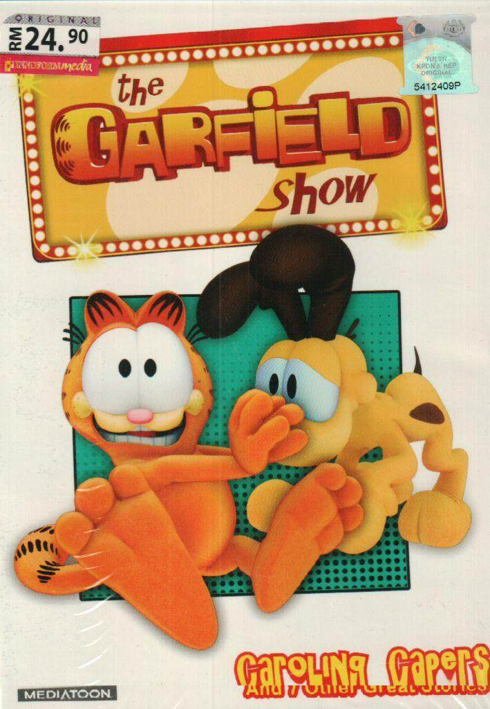 The Garfield Show Caroling Capers DVD