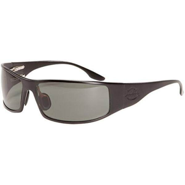 Outlaw Eyewear Fugitive TAC Black Frame, Polarized Gray Sunglasses - intl