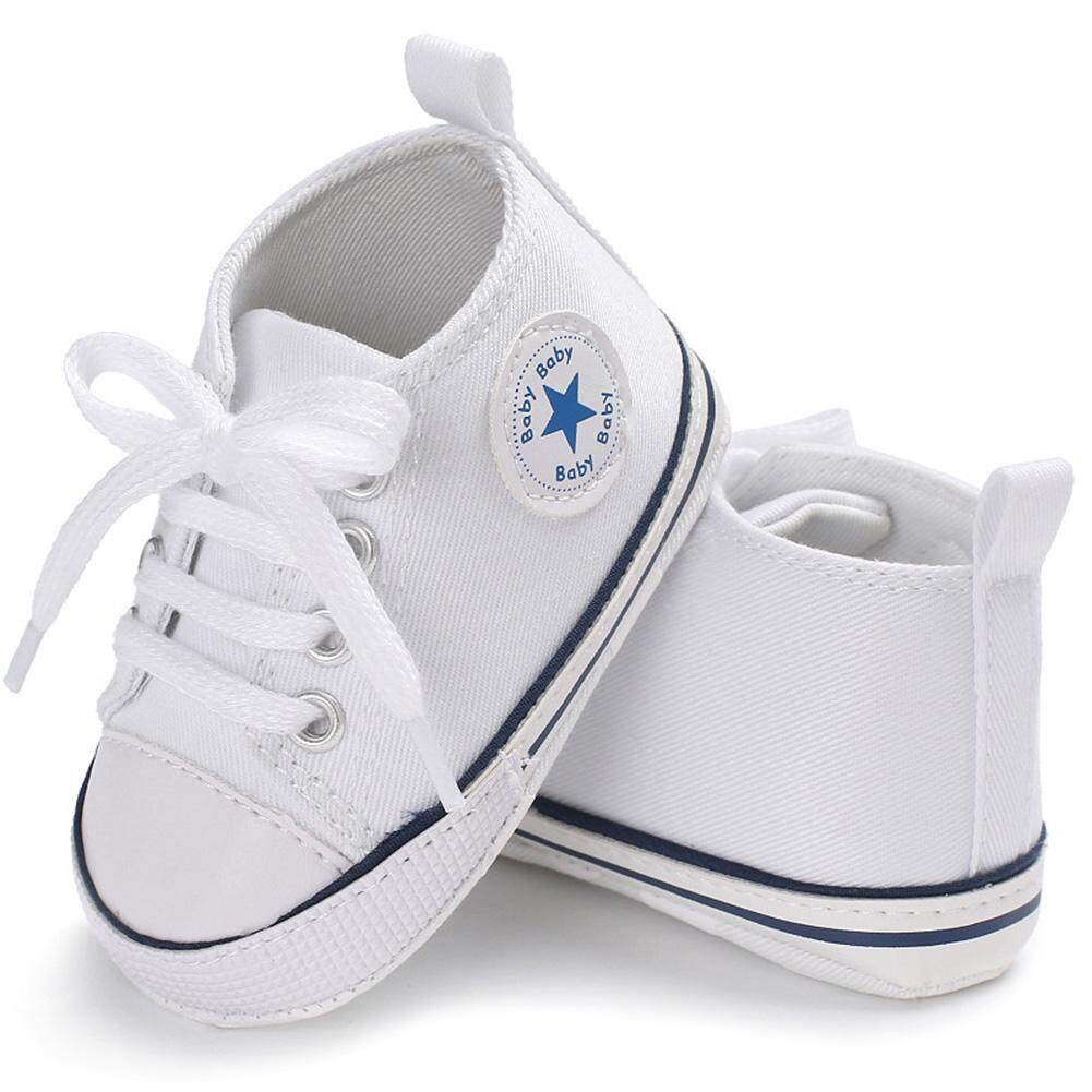 9315b46e865 ZJ Sports Sneakers Newborn Baby Boys Girls First Walkers Shoes Infant  Toddler Soft Sole Anti-slip Baby Shoes Soft Sole Fashion Canvas Infant  Toddler ...
