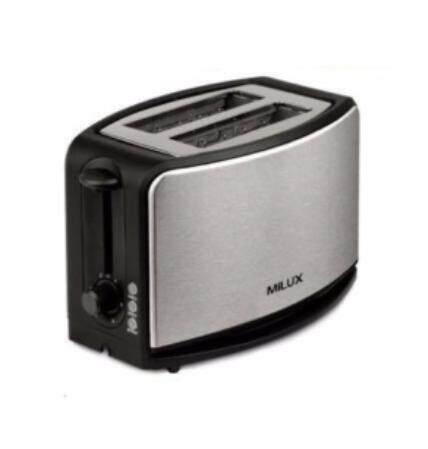 Milux 2 Slice Stainless Steel Bread Toaster MBT-2335