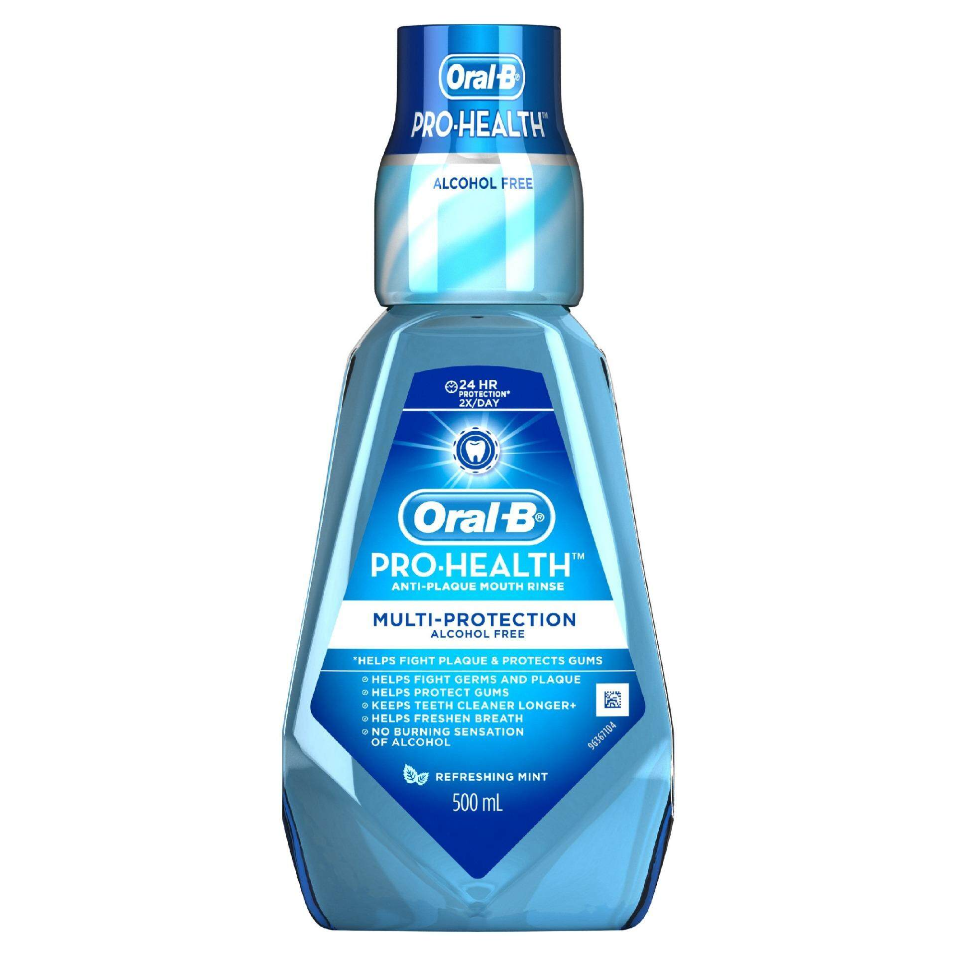 Oral-B Pro-Health Anti-Plaque Multi-Protection Mouth Rinse (Refreshing Mint) 500ml