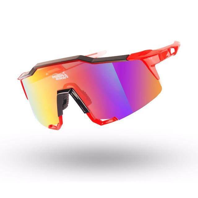 Akasia Besar Bersepeda Matahari Kacamata Luar Ruangan Sport Jalan Sepeda Sepeda Kacamata Hitam 4 Colors Sepeda Kacamata Sepeda Aksesoris-Internasional