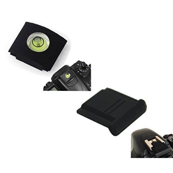 Ceari Sepatu Panas Tutup Pelindung + Gelembung Penyeimbang Gradienter Perlengkapan untuk Canon Rebel XS XSI XT Xti SL1 T1i T2i T3i T3 T4i T5i T5 t6i T6 T6s 60D 70D 6D 7D 5D MARK II III + Pakain Bersih Mikrofiber-Intl