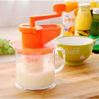 Price Checker Yika Kecil Jus Buah Juicer Bayi Multi-Fungsi Pembuat Jus Manual Kedelai Kacang Pembuat Susu pencari harga - Hanya Rp70.110