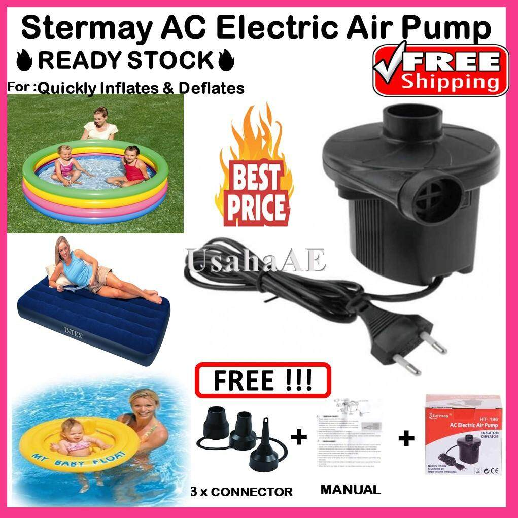 Electric air pump pool pump float High Quality Stermay AC Toys for boys