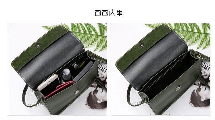 Bolster Store Ladies Women Retro Korea Korean Style Sling Flap Square Cross body Sling Bag