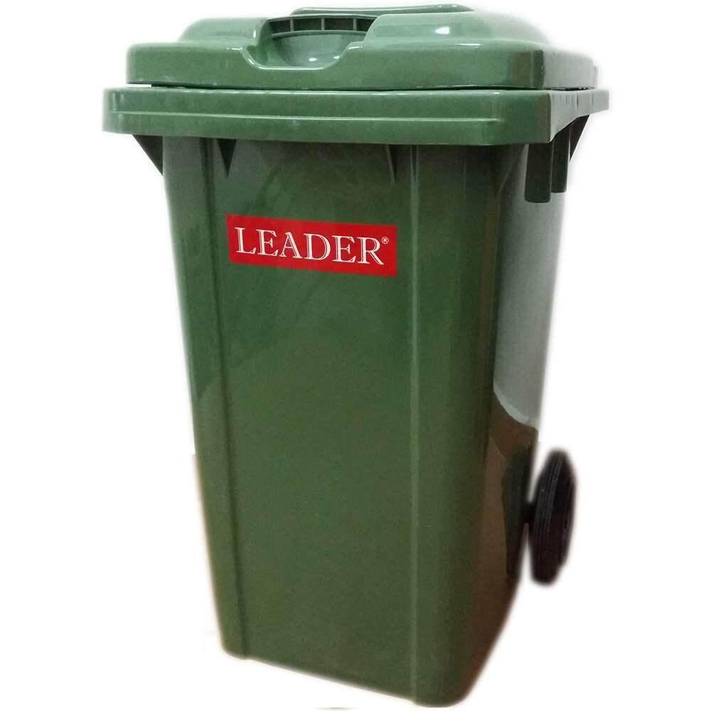 Rivershop 80Litres 2 Wheelie Multi-Purpose Leader Mobile Garbage Compost Wastebin Dustbin Rubbish Trash for Home / Office / Restaurant / Commercial Tong Sampah Beroda Serbaguna