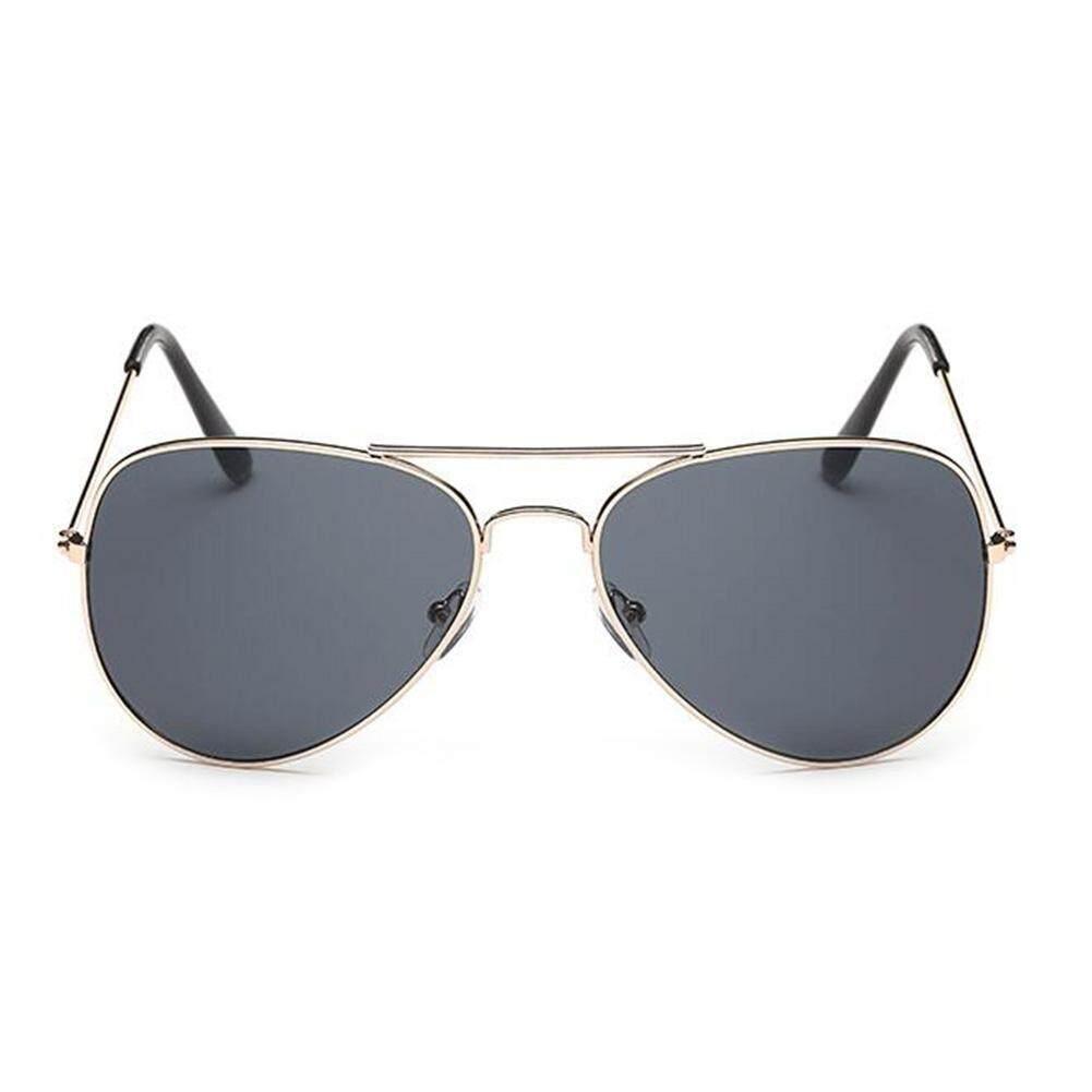 Dsstyles Retro Colorful Kacamata Pilot untuk Pria Wanita Kaca Mata Hitam Lensa Cermin Warna dengan