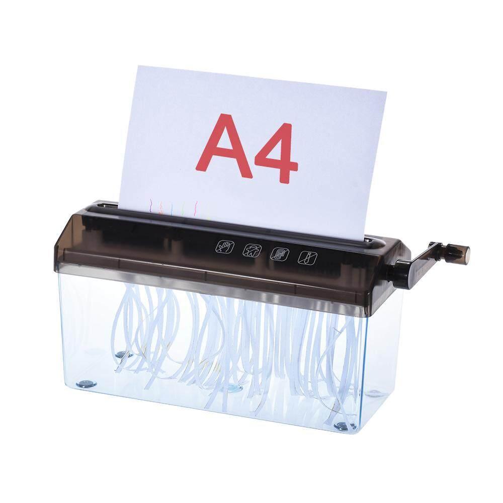 A4 9 Manual Hand Paper Shredder Doent File Handmade Straight Cutting Machine Tool For School