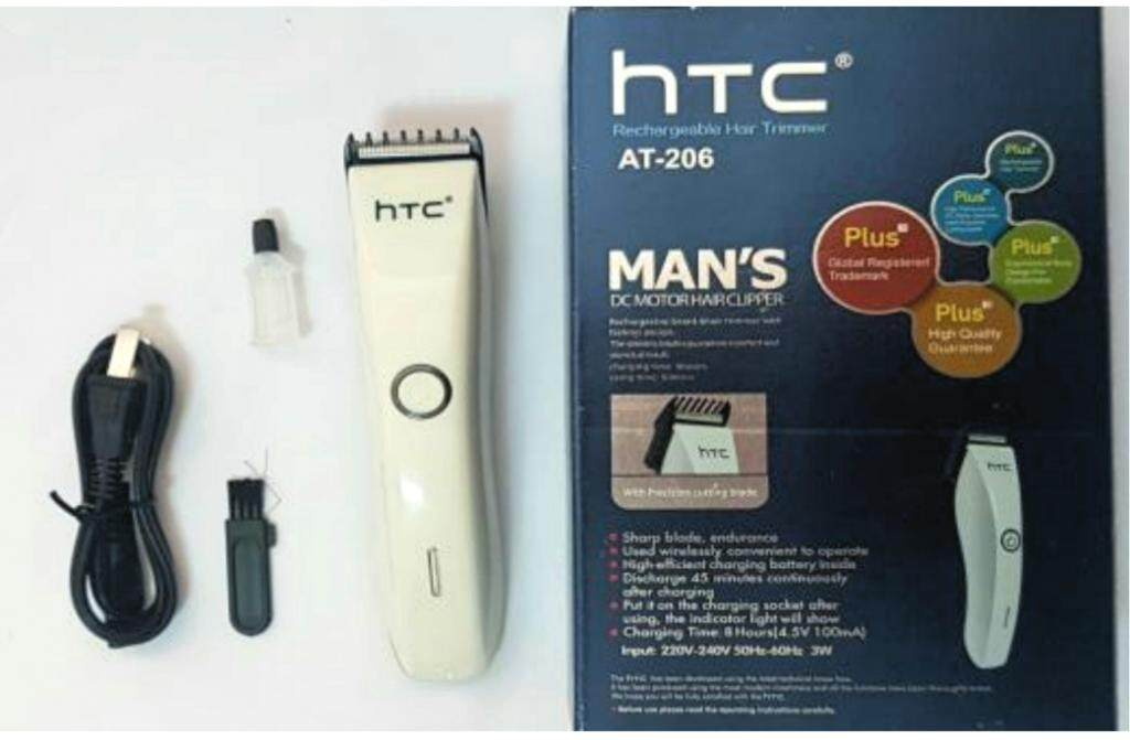 (Mesin Gunting Rambut) HTC AT-206 Professional Hair & Beard Trimmer/Gunting Rambut (Premium Quality & Performance)