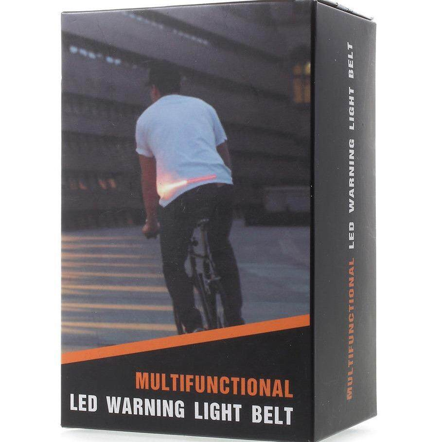 Rechargeable Bicycle LED Warning Light Belt