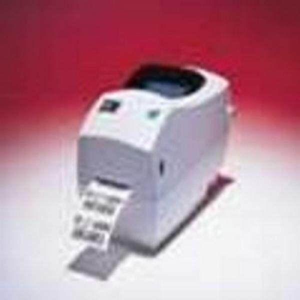 Zebra 282P-101510-000 TLP2824 Plus Direct Thermal/Thermal Transfer Label Printer, Monochrome, 203 DPI, With USB and 10/100 Ethernet