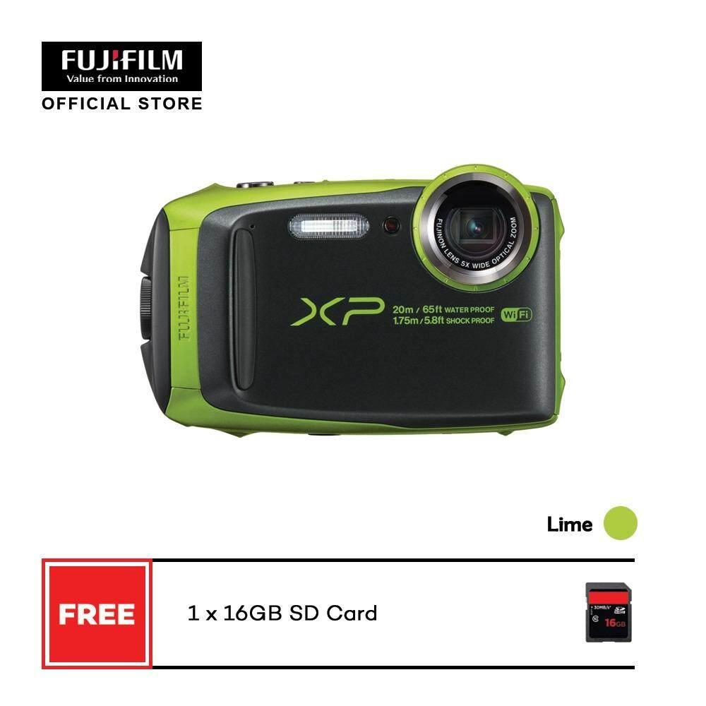 FUJIFILM FinePix XP120 Waterproof Digital Camera + FREE 16GB SD CARD