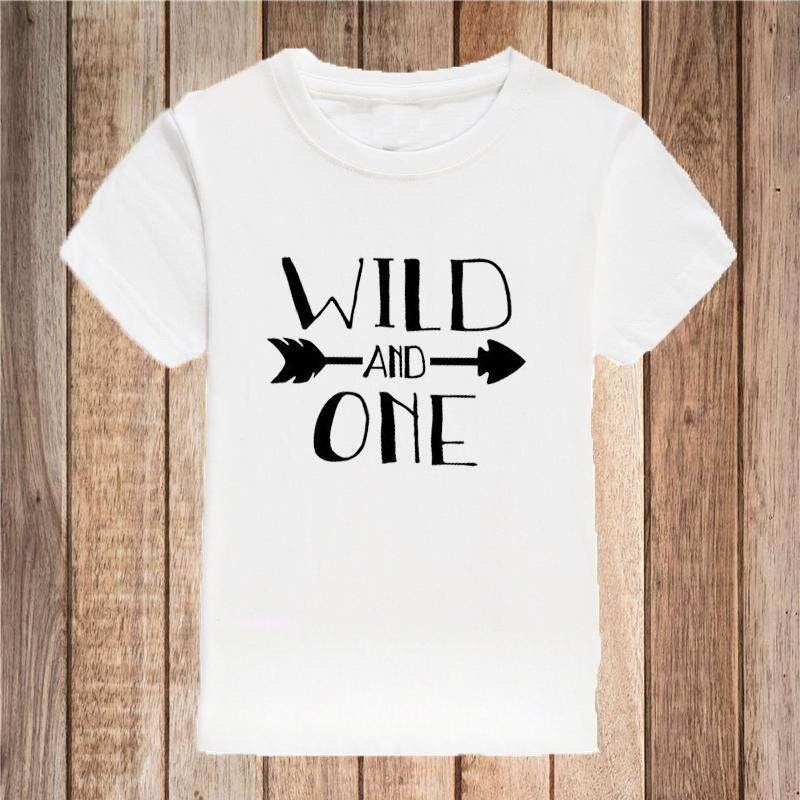 Wild And One 1st Birthday Shirt Boy