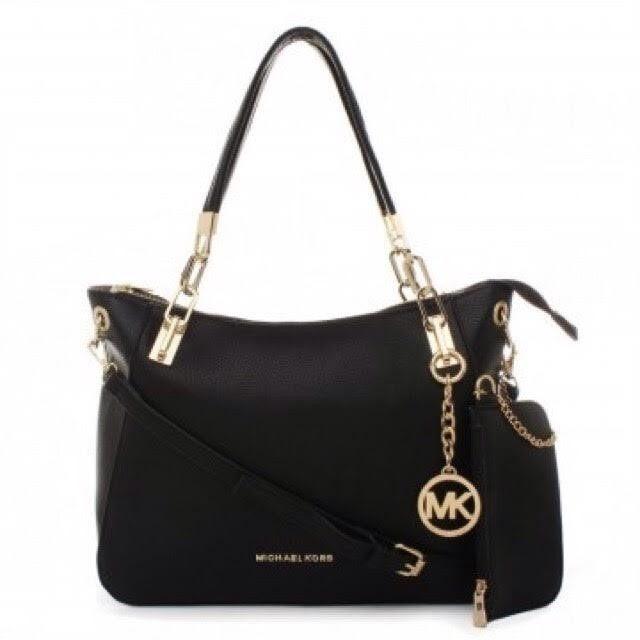 Malaysia Mk Classic 2 In 1 Bag Leather Shoulder Sling Handbag