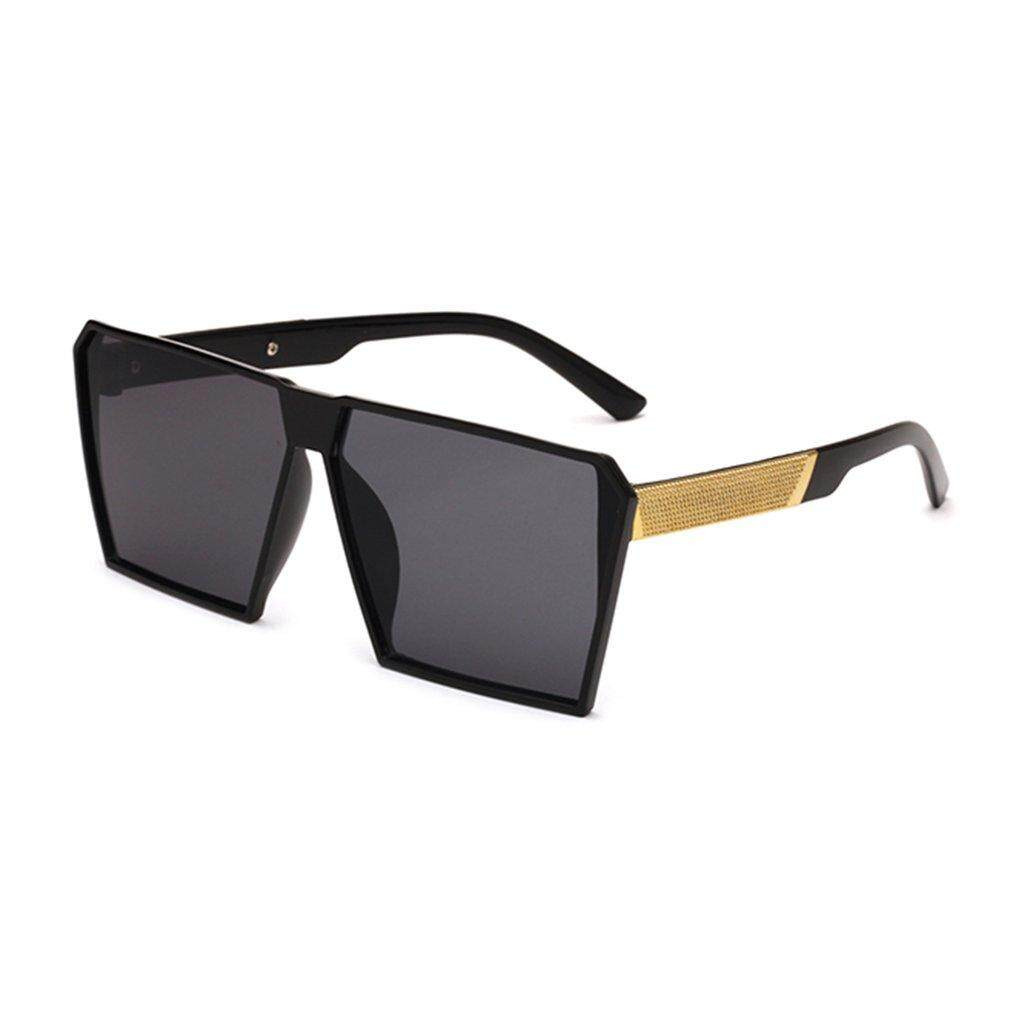 ERA Fashionable Men Sunglasses Anti Ultraviolet Eyewear Large Frame For Beach C1
