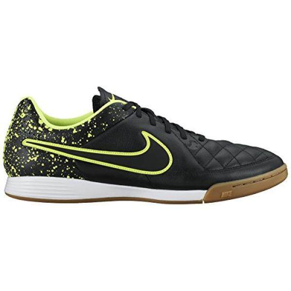 Nike Mens Tiempo Genio Leather IC Indoor Soccer Shoes 11 US, Black - intl