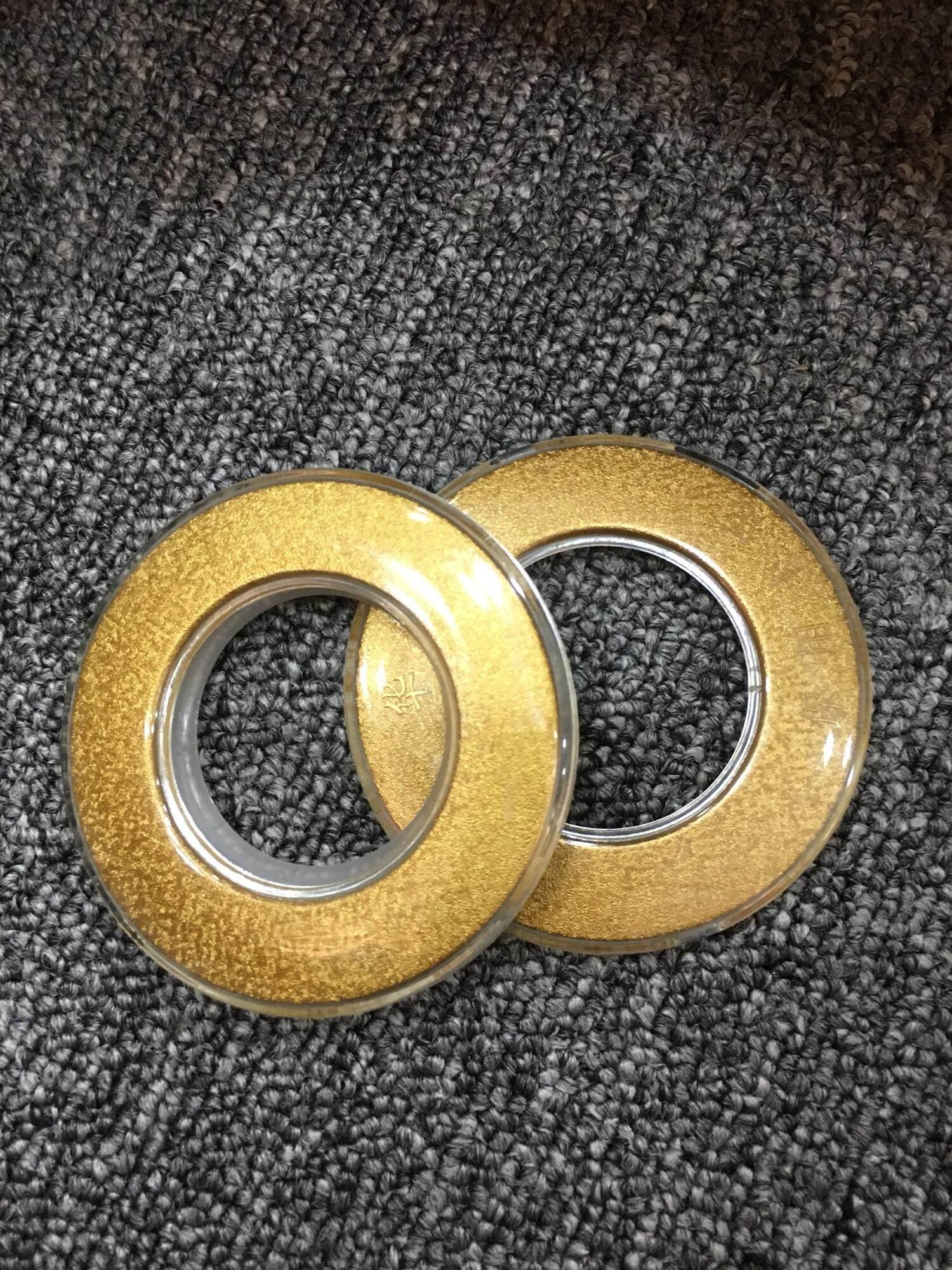 KKC CURTAIN EYELET SAKURA 910-GOLD (25PC)