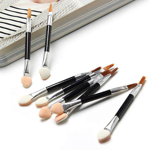 50Pcs Disposable Sponge Make-Up Cosmetics Eye Shadow Eyeliner Lip Brush Applicator