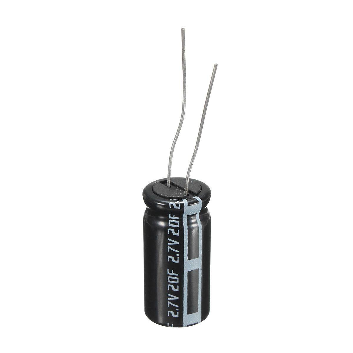 1Pcs 2.7V 20Farad Cylindrical Super Farad Ultra Capacitor High Power Supercap - intl