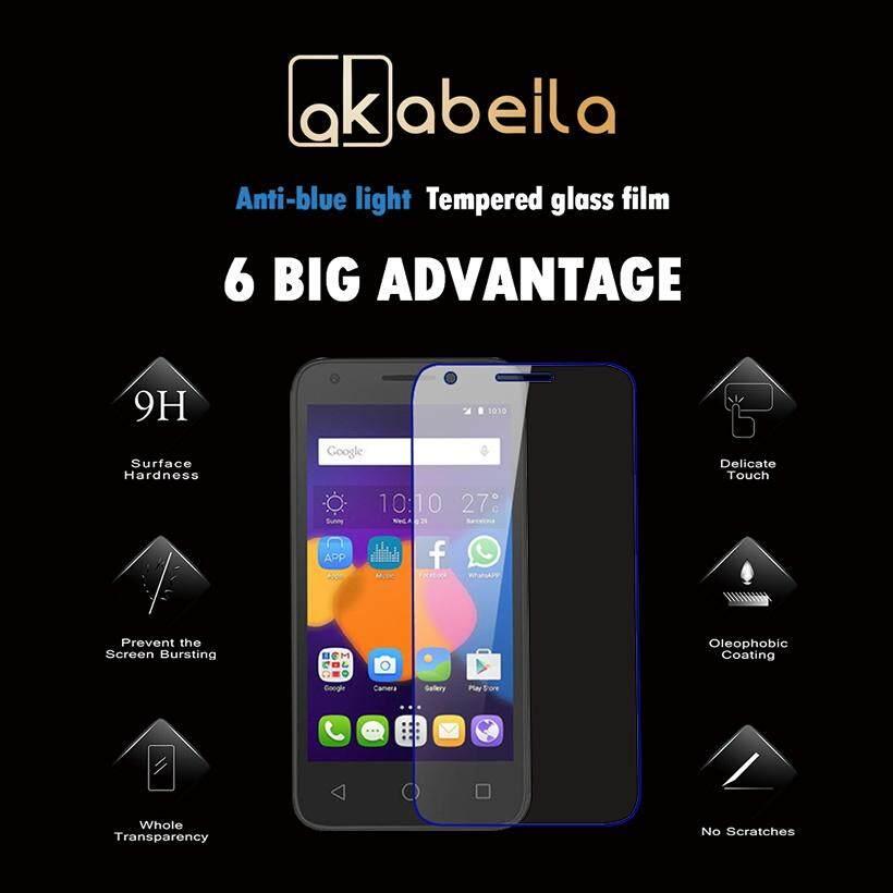 Akabeila 2 Pcs untuk Alcatel OneTouch Pixi 3 3.5 Inch 4009 Satu Sentuhan Pixi3 PL 4009A 4009X 4009E 4009D Tinggi Quaity Kaca Antigores smartphone Pelindung Layar Film
