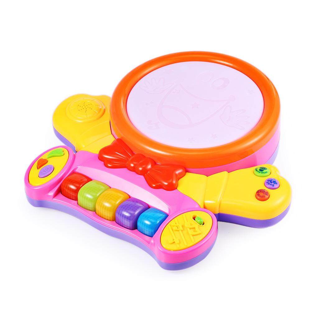 COLORFUL MUSICAL PLAY PIANO WITH LIGHT LEARNING EDUCATIONAL TOY toys education