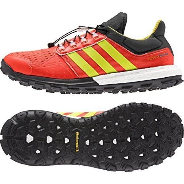 Adidas Adidas Luar Ruangan Adistar Raven Penambah Sepatu Daki Gunung-Pria Tenaga Surya Merah/Tenaga Surya Kuning/Mentah Ochre 6.5- internasional