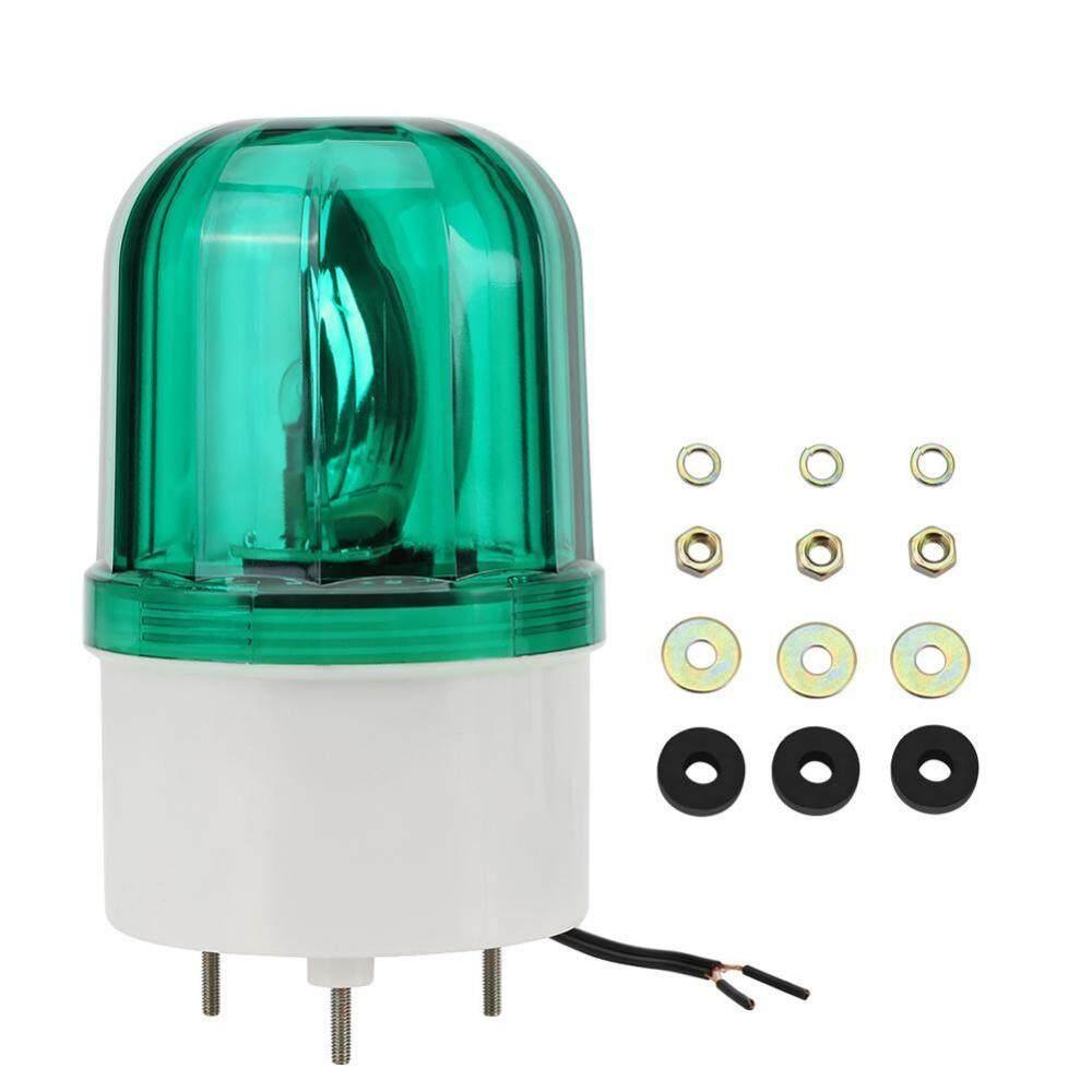 Peringatan Lampu LED Peringatan Darurat Lampu Penerangan Berputar Lampu Suar AC220V (Hijau)-Intl