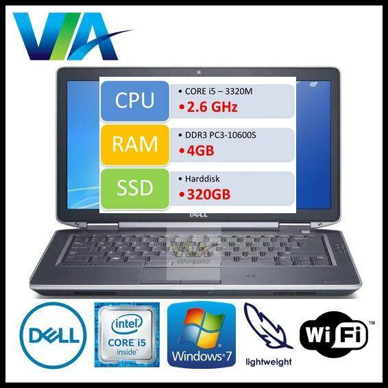 Refurb Dell Latitude E6230 Core i5/4Gb/320Gb/Win7/12.5 Malaysia