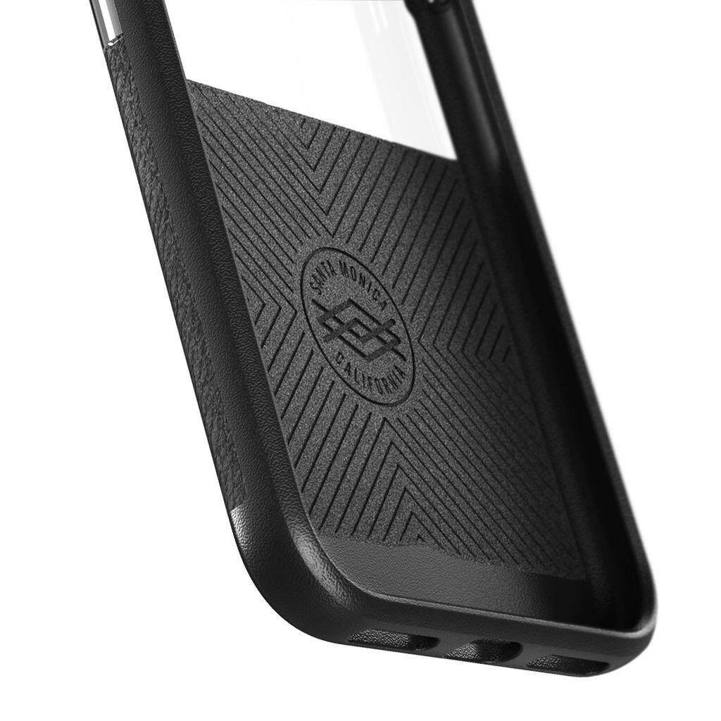 Original X-Doria Dash Case For Apple iPhone X iPhone Xs iPhone 7 iPhone 7 Plus - Black Leather